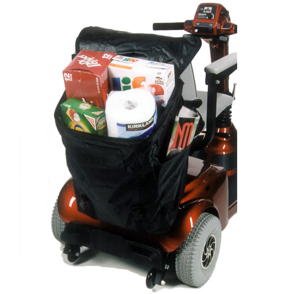 Power Wheelchair Scooter Accessories Seatback Bags