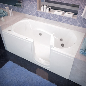 Sanctuary Walk In Full Bather Easy Access Full Size Tub