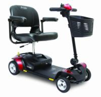 Pride Go-Go Elite Traveller Scooter, 4 Wheel