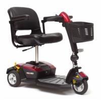 Pride Go-Go LX with CTS - 3 Wheel Travel Scooter