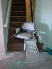 A stair lift in Adelanto, California, image 1
