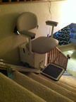 Jeremiah family stair lift in Bullfrog UT
