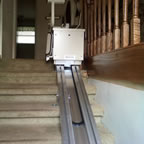 A stair lift in Weaverville, image 1