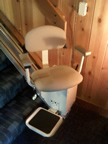 Carter stair lift, Buena Vista GA