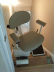 Jenkins stair chair lift, Cummings GA