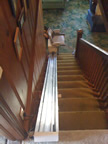 Llewellyn family stair chair in Groton CT