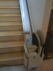 Bollock family stair chair in Knob Lick MO