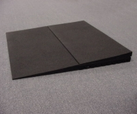 Rubber Threshold Riser, Box of 2