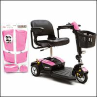 Pride 3 Wheel GoGo LX with CTS Pearl Pink Color Shroud