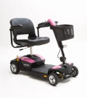 Pride 4 Wheel GoGo LX with CTS Pearl Pink Color Shroud
