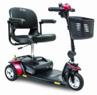 Pride Go-Go Elite Traveller Scooter, 3 Wheel