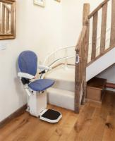 AmeriGlide Platinum Curved Stair Lift - Demo